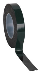 Sealey DSTG2510 Double-Sided Adhesive Foam Tape 25mm x 10mtr Green Backing