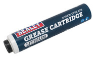 Sealey SCS107 Screw Type EP2 Lithium Grease Cartridge 400g