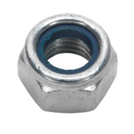 Sealey NLN14 Nylon Lock Nut M14 Zinc DIN 982 Pack of 25