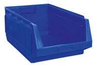 Sealey SSB01B Stackable Storage Bin 370 x 580 x 250mm - Blue Pack of 4