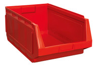 Sealey SSB01R Stackable Storage Bin 370 x 580 x 250mm - Red Pack of 4
