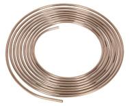 """Sealey CNP005 Brake Pipe Seamless Tube Cupro-Nickel 22 Gauge 5/16"""" x 25ft BS EN 12449 CW024A"""