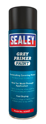 Sealey SCS029 Grey Primer Paint 500ml Pack of 6