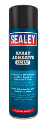 Sealey SCS039 Spray Adhesive 500ml Pack of 6