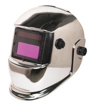 Sealey PWH598C Welding Helmet Auto Darkening Shade 9-13 - Chrome