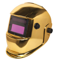 Sealey PWH598G Welding Helmet Auto Darkening Shade 9-13 - Gold