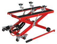 Sealey MC4500 Motorcycle & Quad Scissor Lift 500kg Capacity Hydraulic