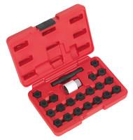 Sealey SX206 Locking Wheel Nut Key Set 22pc - Audi
