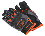 Sealey MG803L Mechanic's Gloves Anti-Collision - Large