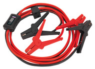 Sealey BC16403SR Booster Cables 16mm_ x 3mtr CCA 400Amp with Electronics Protection