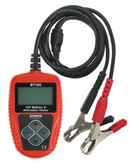 Sealey BT105 Digital Battery & Alternator Tester 12V