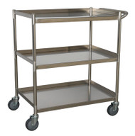 Sealey CX410SS Workshop Trolley 3-Level Stainless Steel