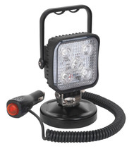 Sealey LED121 Portable Floodlight 15W LED 12V with Magnetic Base