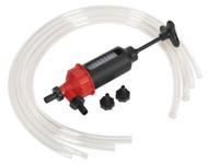 Sealey VS560 Transfer Syphon Pump - Oil/Petrol/Diesel
