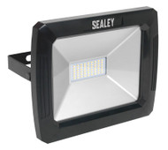 Sealey LED082 Floodlight with Wall Bracket 50W SMD LED 230V