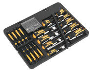 Siegen S01110 Screwdriver Bit Set 60pc