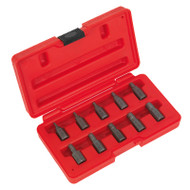 Sealey AK8181 Multi Spline Screw Extractor Set 10pc
