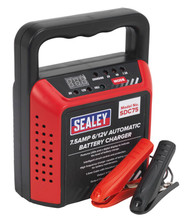 Sealey SDC75 Battery Charger 6/12V 7.5Amp 230V Automatic