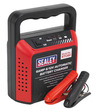 Sealey STC60 Battery Charger 6/12V 6Amp 230V Automatic