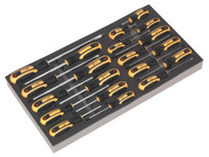 Siegen S01127 Tool Tray with Screwdriver Set 20pc