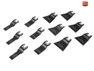 Faithfull XMS18MTSET12 Multi-Tool Blade Set, 12 Piece (FAIMFKIT12)