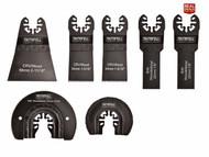 Faithfull XMS18MTSET7 Multi-Tool Blade Set, 7 Piece (FAIMFKIT7)