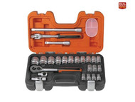 Bahco XMS18SSET12 S240 1/2in Socket Set, 24 Piece (BAHS240)