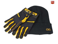 CLC Flex-Gripª XMS18WORKGLO Work Gloves and Beanie (KUNFLGLOVE)