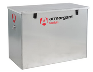 Armorgard ARMGB3 - TOOLBIN Galvanised Storage Box 1165 x 560 x 860mm