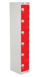 Armorgard ARMPWS6 - PowerStation 6 Door Charging Locker 300 x 450 x 1800mm