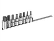 Britool Expert BRIE032904B - Hex Bit Socket Set of 8 1/2in Drive