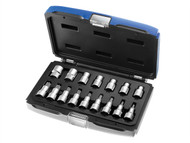 Britool Expert BRIE032907B - Socket Set of 16 Torx 1/2in Drive