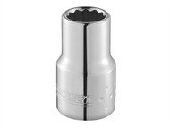 Britool Expert BRIE113742B - Bi-Hexagon Socket 12 Point Regular 1/4in Drive 1/4in