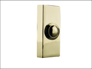 Byron BYR2204 - 2204 Wired Bell Push Brass