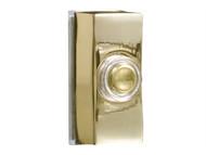 Byron BYR7960B - 7960B Wired Bell Push Brass