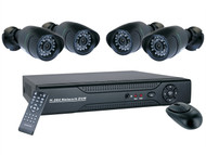 Byron - DVR640S 4 Channel LAN Security Recorder + 4 Cameras