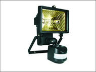 Byron BYRES120 - ES120 Halogen Floodlight with PIR Black 120 Watt