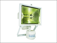 Byron BYRES400W - ES400W Halogen Floodlight with PIR White 400 Watt