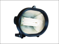 Byron BYRHL24 - HL24 Energy Saving Spotlight Black 24 Watt