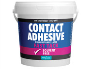 Polyvine CASCA1L - Contact Adhesive Solvent Free Fast Tack 1 Litre