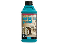 Polyvine CASMPBG1L - Exterior & Interior Metallic Paint Bright Gold 1 Litre