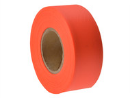 C H Hanson CHH17000 - Flagging Tape Fluorescent Orange 46m (150ft)