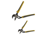 C H Hanson CHH80500 - Automatic Groove Plier Set of 2 165mm & 235mm Soft Grip Handle