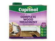 Cuprinol CUP5ST25L - 5 Star Complete Wood Treatment 2.5 Litre