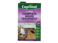 Cuprinol CUP5ST5L - 5 Star Complete Wood Treatment 5 Litre