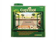 Cuprinol CUPDONP25L - UV Guard Decking Oil Natural Pine 2.5 Litre