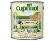 Cuprinol CUPGSAS25L - Garden Shades Arabian Sand 2.5 Litre