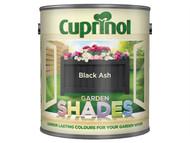 Cuprinol CUPGSBLA25L - Garden Shades Black Ash 2.5 Litre
