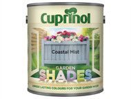 Cuprinol CUPGSCM25L - Garden Shades Coastal Mist 2.5 Litre