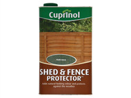 Cuprinol CUPSFRG5L - Shed & Fence Protector Rustic Green 5 Litre